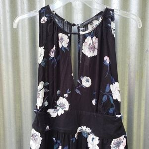 Kendall and Kylie sleeveless romper floral Large